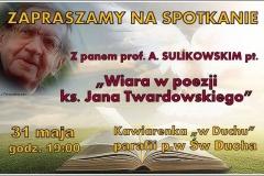 39 Spotkanie z p. prof. A. Sulikowskim 2015