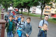 49 LSO zwiedza podziemny Szczecin 2015